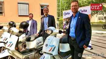 Neu in Jena: E-Roller im Sharing-Angebot