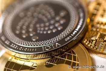 IOTA-Kurs (MIOTA) explodiert nach Tweet, Bitcoin (BTC) stagniert - BTC-ECHO   Bitcoin & Blockchain Pioneers