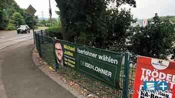 Nicht zulässig: Iserlohner Wahlplakat hängt in Hagen - WP News