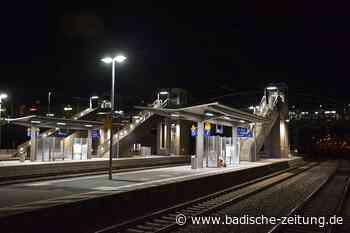 Bahnsteig zu kurz: Badenkurier kann nun doch nicht in Weil am Rhein halten - Weil am Rhein - Badische Zeitung