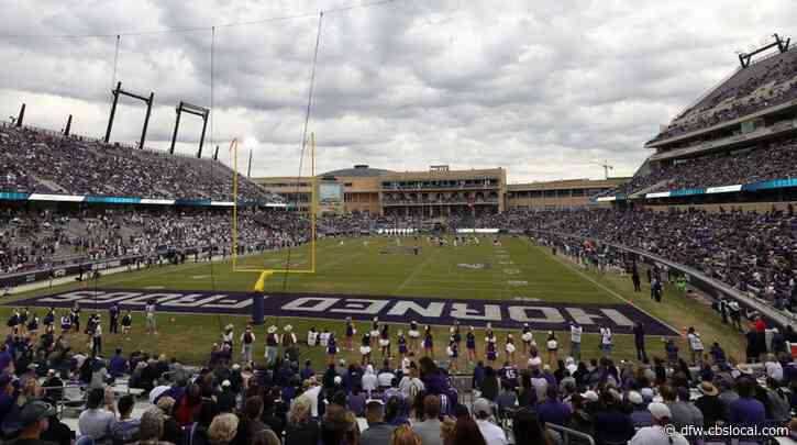 TCU Adjusts 2020 Football Schedule As Conference Moves Ahead With Play