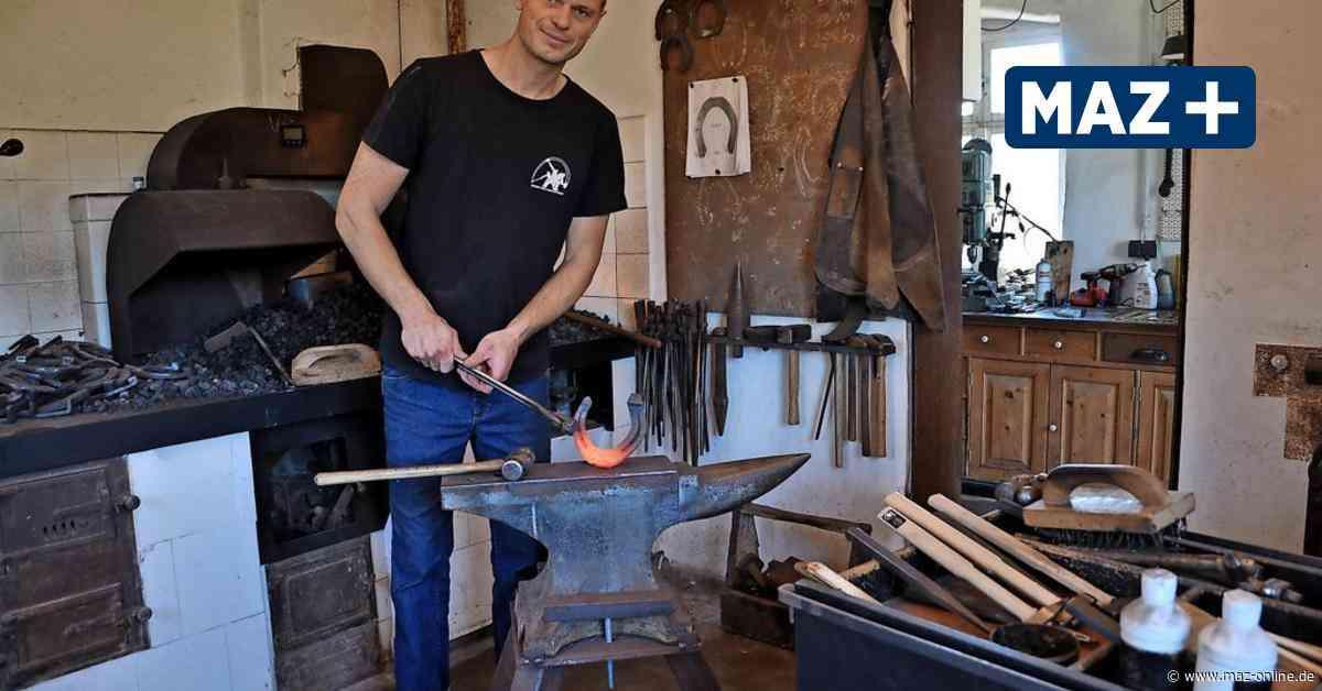 Preisgekrönter Hufschmied ist in Kloster Lehnin für Pferde und Reiter da - Märkische Allgemeine Zeitung