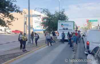 Deja pasajeros varados nuevo camión de ruta troncal - La Opcion