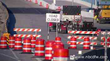 Closures on State Highway 360 in Arlington for Bridge Construction Friday