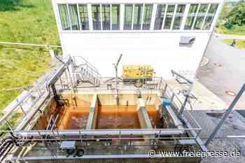Wismut reinigt 2019 in Pöhla 113.000 Kubikmeter Grubenwasser - Freie Presse