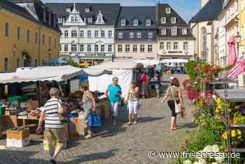 Zschopauer Wochenmarkt wieder an altem Platz - Freie Presse