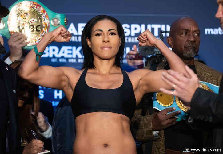 Cecilia Braekhus primed for Jessica McCaskill, says all promoters should invest in women's boxing