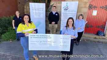 Mangoola Open Cut workforce donates $5000 to Upper Hunter Homeless Support - Muswellbrook Chronicle