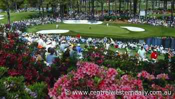 Masters to be spectator-free in November - Central Western Daily