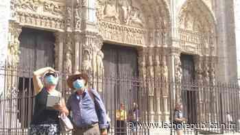 Le port du masque sera imposé, ce week-end, autour de la cathédrale de Chartres - Echo Républicain