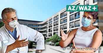 Corona: WAZ-Interview zur Lage am Klinikum Wolfsburg - Wolfsburger Allgemeine