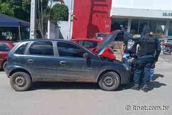 Em Itabaiana, PM realiza prisão por adulteração de sinal identificador de veículo e recupera carro roubado - Portal Itnet