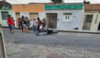 Homem é assassinado quando pilotava motocicleta em Itabaiana - Infonet