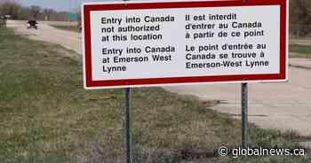 Manitoba border guards arrest U.S. murder suspect