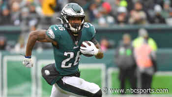 Miles Sanders figuring out his new role with Eagles - NBC Sports Philadelphia