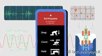 Così gli smartphone Android saranno in grado di prevedere i terremoti - Everyeye Tech