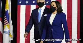 Biden and Harris make first appearance as running mates