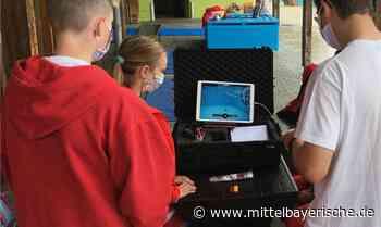 Wasserwacht übt mit der Drohne - Region Cham - Nachrichten - Mittelbayerische