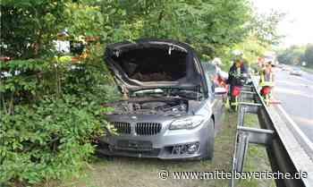 Schwerverletzter bei Unfall auf der B85 - Region Cham - Nachrichten - Mittelbayerische