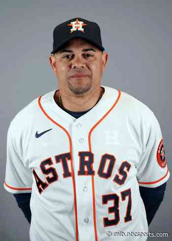 Astros hitting coach receives 20-game suspension; A's Laureano six