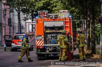 Esslingen: Feuer auf Balkon eines Mehrfamilienhauses - Esslingen - esslinger-zeitung.de