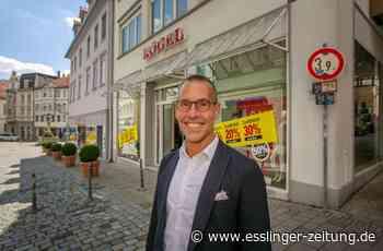 Interview: Alexander Kögel, Vorsitzender der City Initiative Esslingen: Von Einkaufslust und Einkaufsfrust - Esslingen - esslinger-zeitung.de