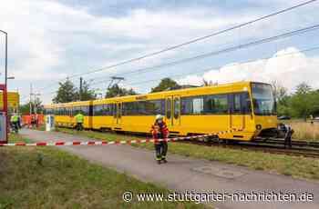 Stadtbahnunfall in Ostfildern - 16-jähriger Radfahrer nach Kollision mit U8 gestorben - Stuttgarter Nachrichten