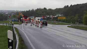Verkehr Reutlingen, Metzingen, Esslingen: B 312 im Aichtal voll gesperrt - SWP