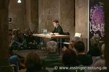 Esslinger LesART: Literaturgenuss auf Abstand - Esslingen - esslinger-zeitung.de