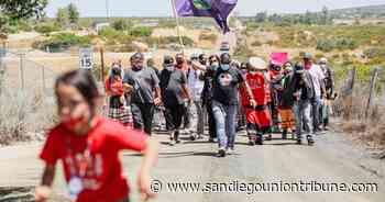 Kumeyaay band seeks federal injunction to halt construction of border wall