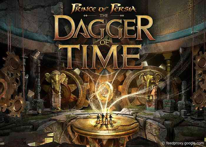 Prince Of Persia: The Dagger Of Time VR arcade experience trailer