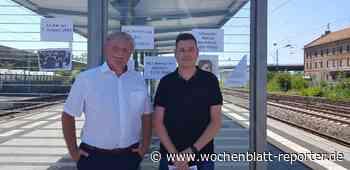 Vor dem Bahnhof in Schifferstadt: Ökumenisches Gedenken an Edith Stein - Schifferstadt - Wochenblatt-Reporter