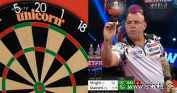 Darts World Matchplay: Achtelfinale mit Peter Wright, Daryl Gurney, Glen Durrant - SPORT1
