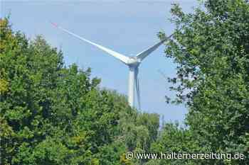Zwei neue Windräder im Wald - Pläne können eingesehen werden - Halterner Zeitung