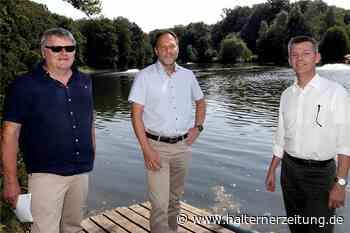 Neue Belüftungsanlage in der Stever soll Fischsterben verhindern - Halterner Zeitung