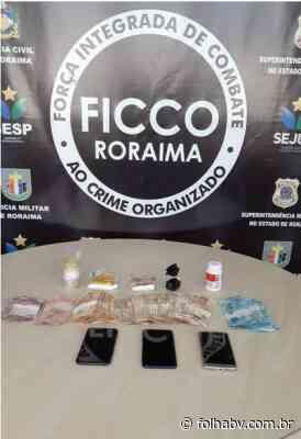 Ex-militar venezuelano é preso por tráfico de drogas em Boa Vista - Folha de Boa Vista
