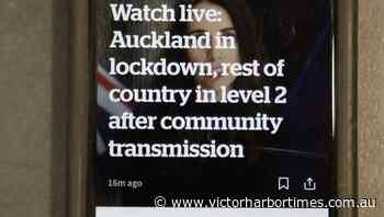 Auckland scrambles as virus outbreak grows | The Times | Victor Harbor, SA - Victor Harbor Times