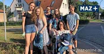 Schüler aus Birkenwerder sammeln Müll in Grünanlagen und Waldgebieten - Märkische Allgemeine Zeitung