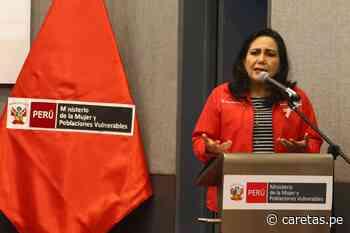 """Gloria Montenegro tras su salida del Ministerio de la Mujer: """"En donde esté haré política de la... - Caretas"""