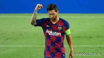 Qué le dijo Lionel Messi al Rolfi Montenegro sobre la mano ante el Napoli - Vía País
