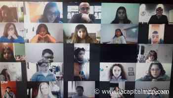 Montenegro concedió una entrevista a alumnos del colegio San Andrés - La Capital de Mar del Plata