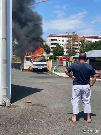 Gironde : un food-truck prend feu à Lormont, une jeune femme brûlée à la main - actu.fr