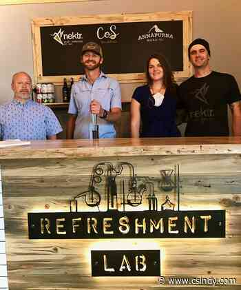 The Refreshment Lab joins Annapurna Mead, CoS'bucha and Nektr. Craft Kombucha as a shared tasting room and grab-and-go market
