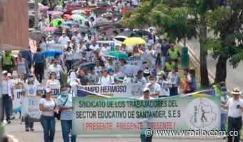 Por qué los docentes de Santander entraron en paro - W Radio