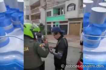 Multan a funcionario de la Dirección de Tránsito de Bucaramanga por presunto estado de embriaguez - Canal TRO