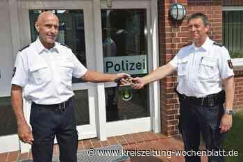 Polizeikommissar Holger Heins im Ruhestand: Polizeistation Harsefeld unter neuer Leitung - Harsefeld - Kreiszeitung Wochenblatt