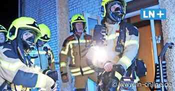 Brand in Pension in Geesthacht: Aufregung um angebliche Waffe - Lübecker Nachrichten
