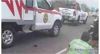 Dos personas heridas deja despiste de una moto en Zarumilla - Diario Correo