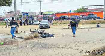 Tumbes: Sicarios asesinan a balazos a motociclista en Zarumilla - Diario Perú21