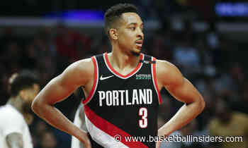 Sources: CJ McCollum Playing with Lower Back Fracture